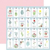 Bold Tags Paper - Flora No.4 - Carta Bella