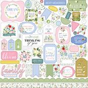 Flora No.4 Element Sticker - Carta Bella