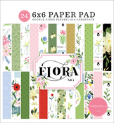 Flora No.4 6x6 Paper Pad - Carta Bella