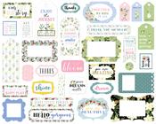 Flora No.4 Frames & Tags - Carta Bella