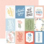 3X4 Journaling Cards Paper - Salutations No. 1 - Echo Park