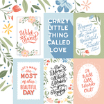 4X6 Journaling Cards Paper - Salutations No. 1 - Echo Park - PRE ORDER