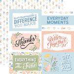 6X4 Journaling Cards Paper - Salutations No. 1 - Echo Park