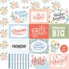 4X3 Journaling Cards Paper - Salutations No. 1 - Echo Park