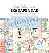 Salutations No.1 6x6 Paper Pad - Echo Park