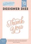 Thank You Die Set - Salutations No. 1 - Echo Park