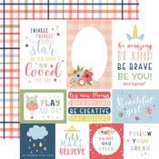 Multi Journaling Cards Paper - Little Dreamer Girl - Echo Park