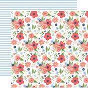 Dreamy Floral Paper - Little Dreamer Girl - Echo Park