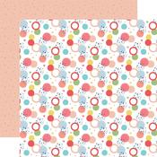 Dancing Dots Paper - Little Dreamer Girl - Echo Park
