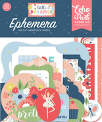 Little Dreamer Girl Ephemera - Echo Park