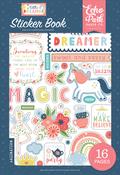 Little Dreamer Girl Sticker Book - Echo Park