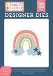 Dreamy Rainbow Die Set - Little Dreamer Girl - Echo Park