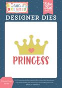 Princess Crown Die Set - Little Dreamer Girl - Echo Park