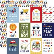 3X4 Journaling Cards Paper - Little Dreamer Boy - Echo Park