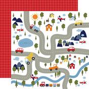 Bumpy Roads Paper - Little Dreamer Boy - Echo Park
