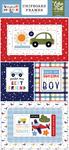 Little Dreamer Boy 6x13 Chipboard Frames - Echo Park