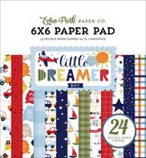 Little Dreamer Boy 6x6 Paper Pad - Echo Park