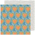 Tie Dye Hearts Paper - Reaching Out - Jen Hadfield
