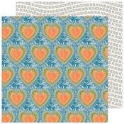 Tie Dye Hearts Paper - Reaching Out - Jen Hadfield - PRE ORDER