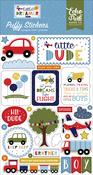Little Dreamer Boy Puffy Stickers - Echo Park