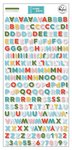 Some Days Mini Alphabet Stickers - Pinkfresh Studio - PRE ORDER
