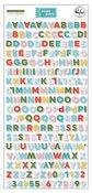 Some Days Mini Alphabet Stickers - Pinkfresh Studio