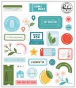 Some Days Chipboard Stickers - Pinkfresh Studio - PRE ORDER
