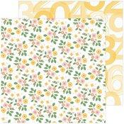 Fresh Flowers Paper - Some Days - Pinkfresh Studio