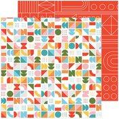 Turning Circles Paper - Some Days - Pinkfresh Studio