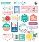 Keeping It Real Chipboard Stickers - Pinkfresh Studio - PRE ORDER