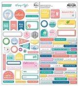 Keeping It Real Cardstock Stickers - Pinkfresh Studio