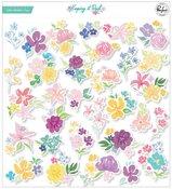 Keeping It Real Floral Ephemera Pack - Pinkfresh Studio