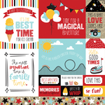 Multi Journaling Cards - A Magical Place - Echo Park - PRE ORDER