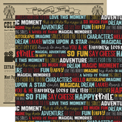 Smile Words Paper - A Magical Place - Echo Park