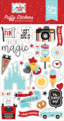 A Magical Place Puffy Stickers - Echo Park