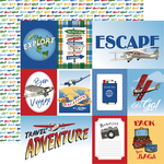 Multi Journaling Cards Paper - Our Travel Adventure - Carta Bella