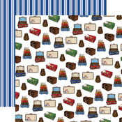 Luggage Paper - Our Travel Adventure - Carta Bella