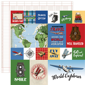Journaling Cards Paper - Our Travel Adventure - Carta Bella