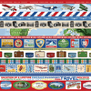 Travel Strips Paper - Our Travel Adventure - Carta Bella
