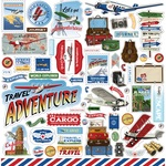 Our Travel Adventure Element Stickers - Carta Bella