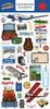 Our Travel Adventure 6x13 Chipboard Accents - Carta Bella