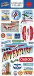 Our Travel Adventure 6x13 Chipboard Phrases - Carta Bella - PRE ORDER