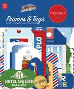 Our Travel Adventure Frames & Tags - Carta Bella