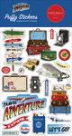 Our Travel Adventure Puffy Stickers - Carta Bella
