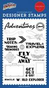 World Explorer Stamp Set - Our Travel Adventure - Carta Bella