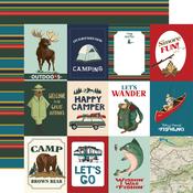 3X4 Journaling Cards Paper - Outdoor Adventures - Carta Bella