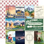 Multi Journaling Cards Paper - Outdoor Adventures - Carta Bella - PRE ORDER