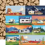 Camp Trailers Paper - Outdoor Adventures - Carta Bella