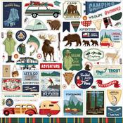 Outdoor Adventures Element Sticker - Carta Bella