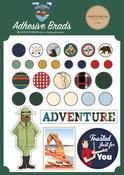 Outdoor Adventures Adhesive Brads - Carta Bella